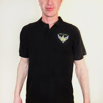 Midnight Black Polo Shirt