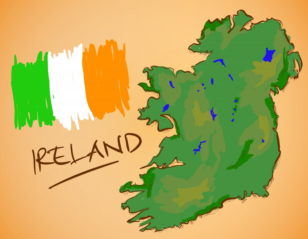 What is the CORRECT name for Ireland?