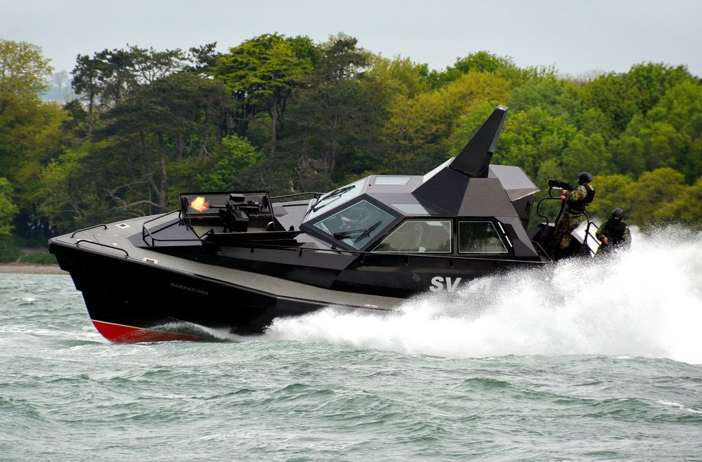James Bond-style killer boat built in Ireland