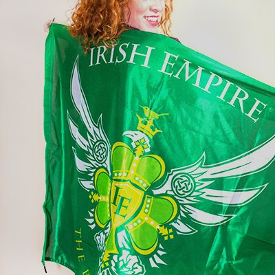 Irish Empire Flag